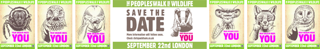 People's Walk For Wildlife, with Chris Packham